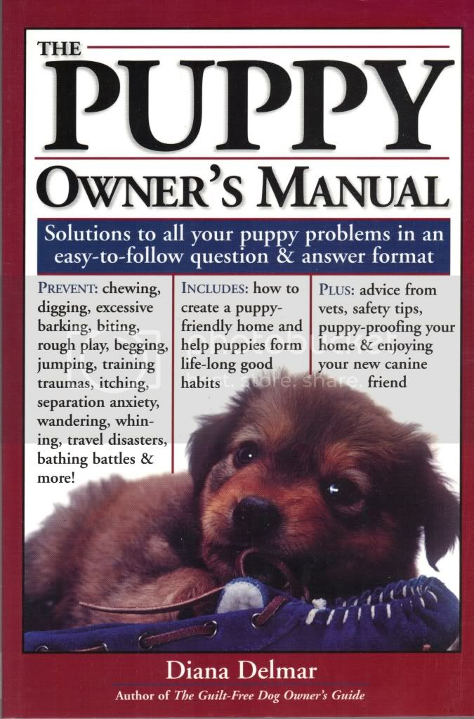 Puppy Owners Manual Solutions to Your Raising Puppy Quandaries Question & Answer