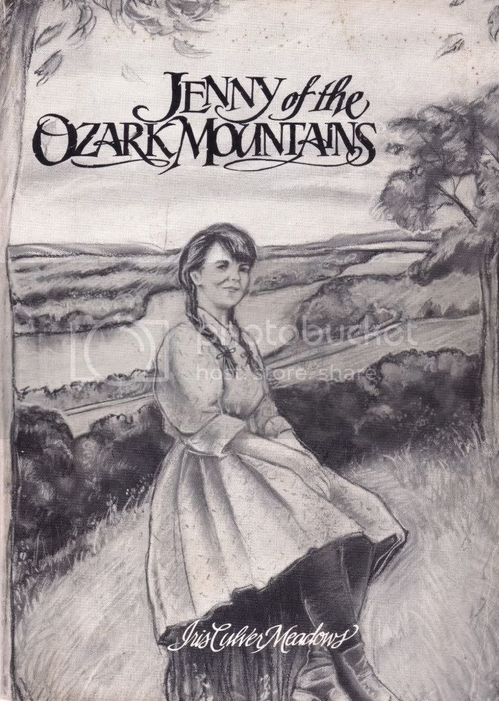 Signed Jenny of the Ozark Mountains Rural South Missouri 20's&30's Iris Meadows
