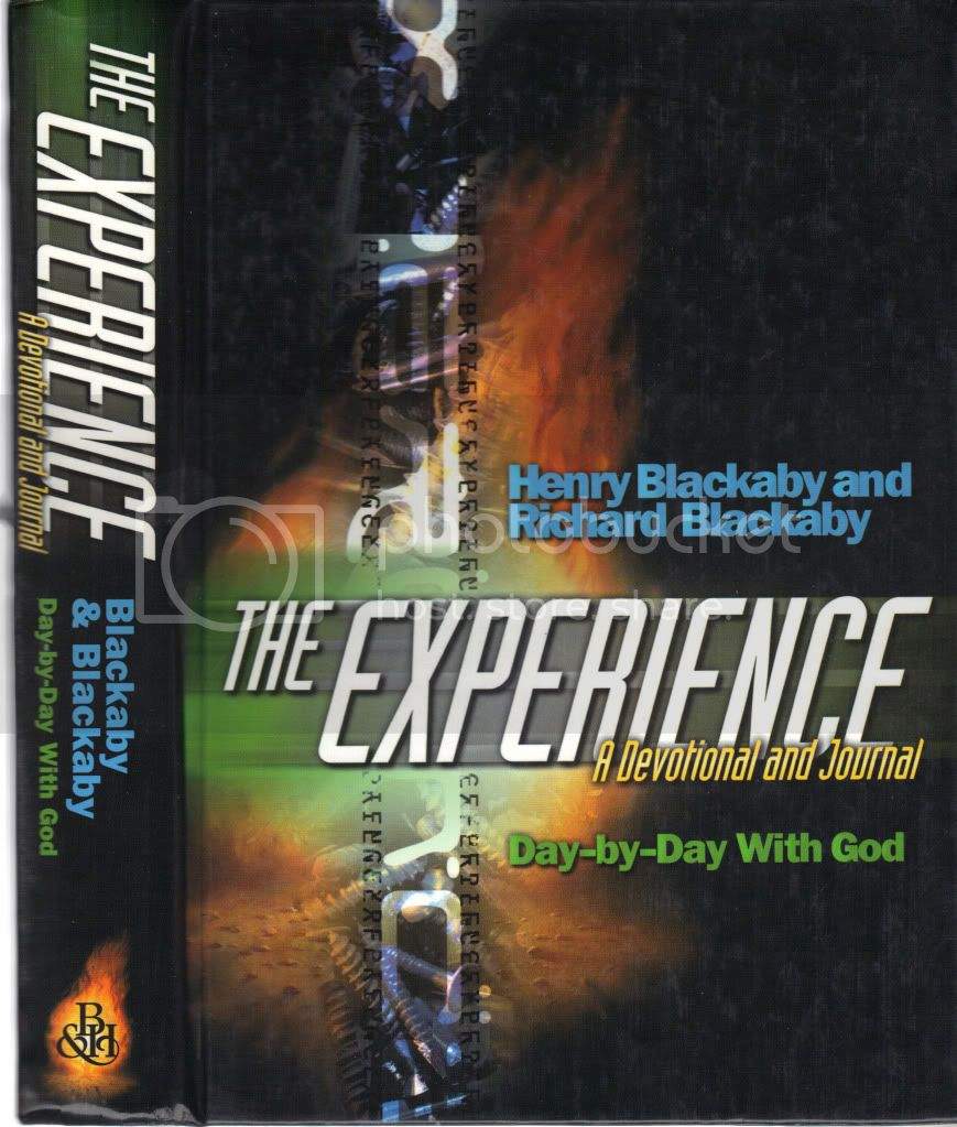 The Experience Day by Day with God: A Devotional & Journal Henry RIchard Blackaby